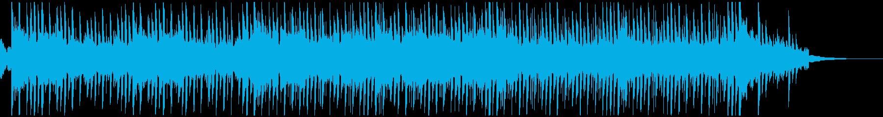キラキラでエモかわいいエレクトロニカSの再生済みの波形
