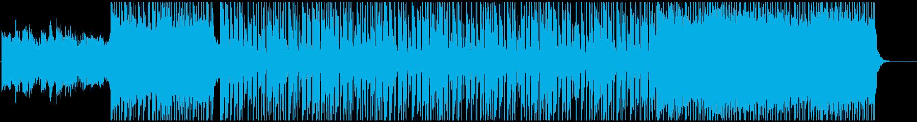 可愛く爽やかなレゲエ アフロビートの再生済みの波形