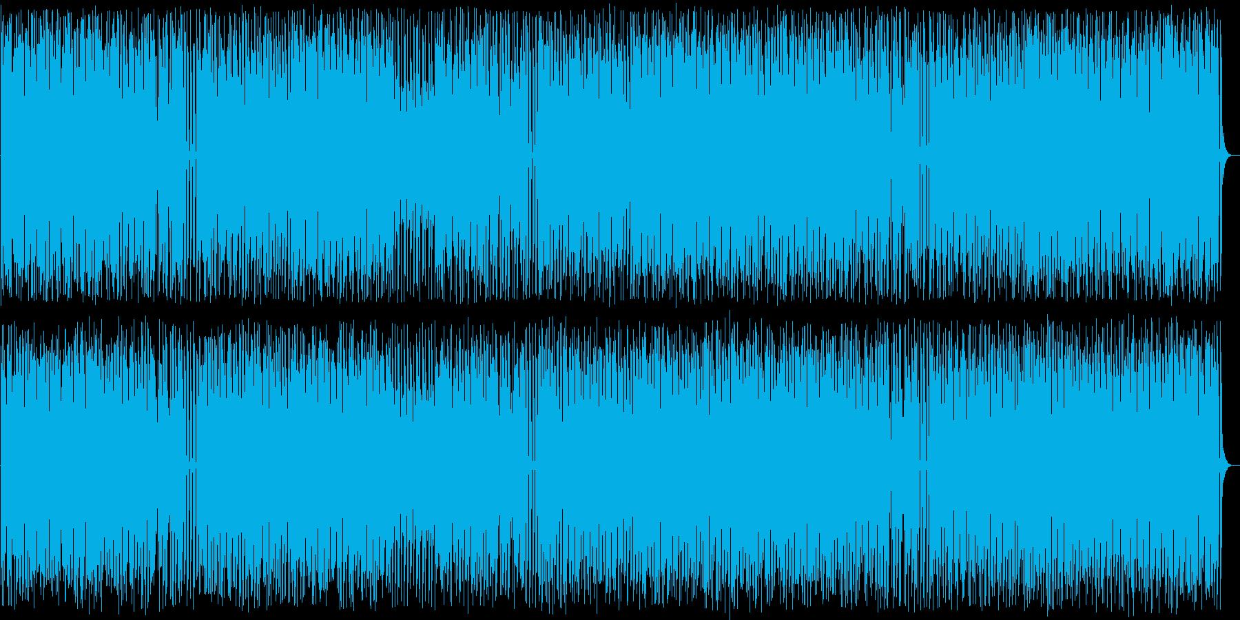 弾むような和風POPの再生済みの波形