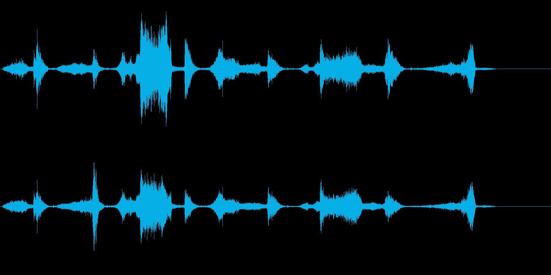 リンカーンタウンカー;速いアスファ...の再生済みの波形