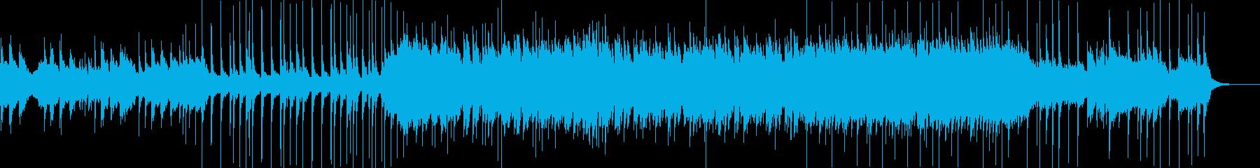 琴と三味線の雅で妖艶な和風EDMの再生済みの波形