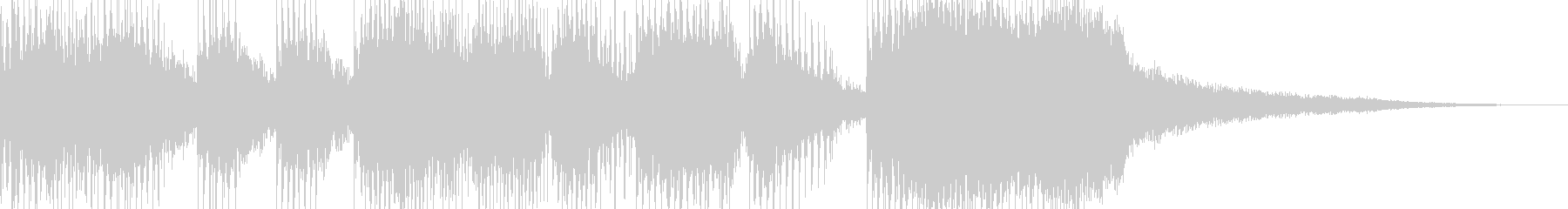 発展ジングル(5sec)の未再生の波形