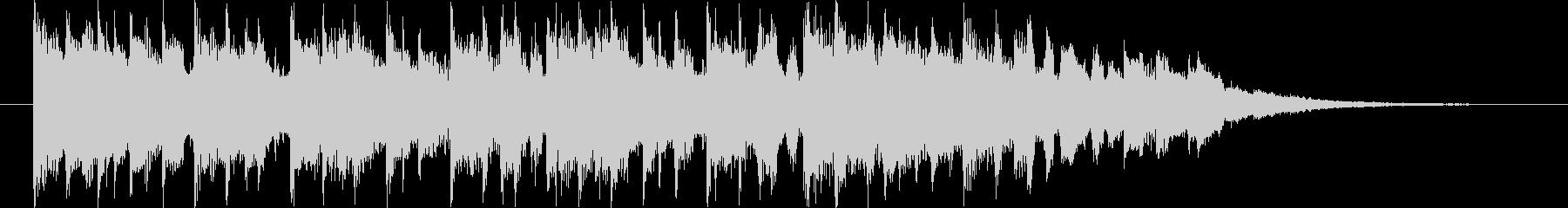 近未来的なBGM(15ver)の未再生の波形