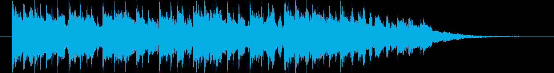 近未来的なBGM(15ver)の再生済みの波形