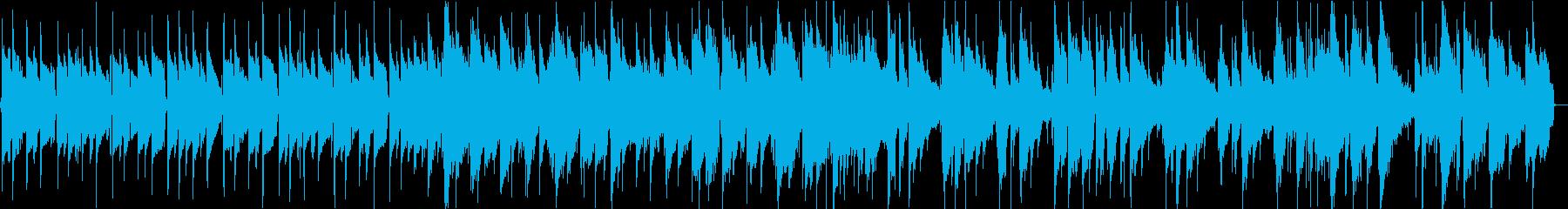 お洒落なガットギターのソロBGMの再生済みの波形