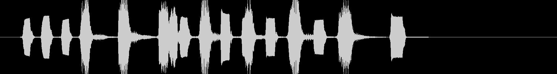 ほのぼの・かわいい・日常系 リコーダーの未再生の波形
