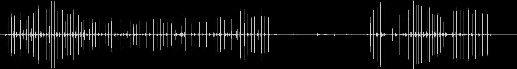 ウィレット・チャープ、ツイート。フ...の未再生の波形