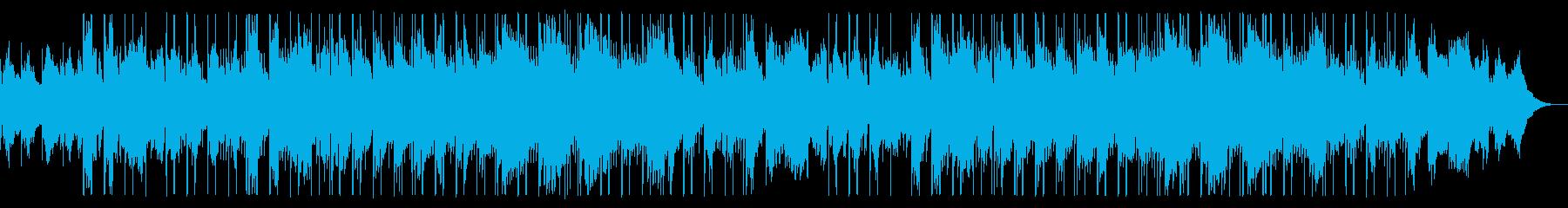 心地よいエレピ・エモいシンセサウンドの再生済みの波形