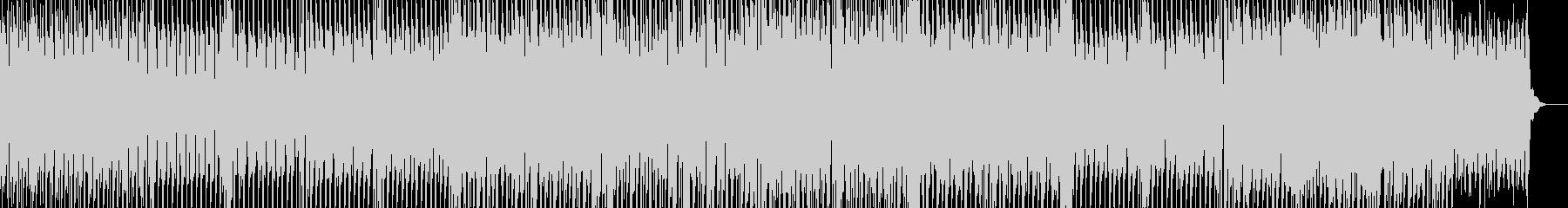 ひたすら明るいEDMの未再生の波形