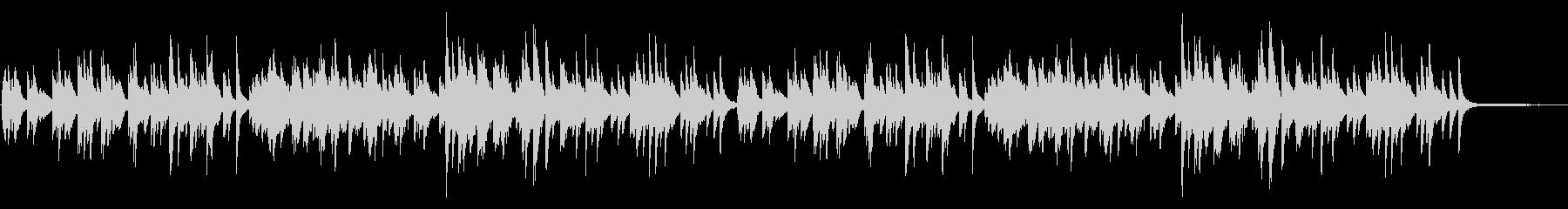 優しい雰囲気のピアノソロ 06の未再生の波形