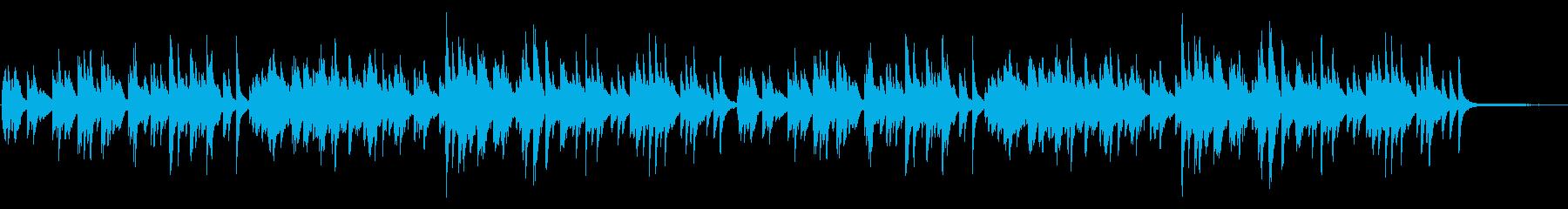 優しい雰囲気のピアノソロ 06の再生済みの波形