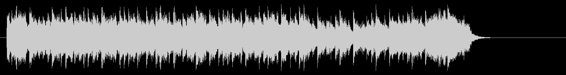 安らぎのミディアムポップ(サビ)の未再生の波形