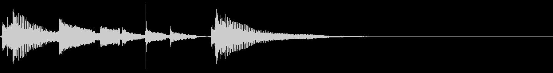 ★アコギ生音のジングル/フレットノイズの未再生の波形