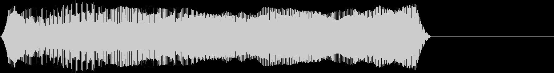 TVFX 『チェックポイント!』のSE1の未再生の波形