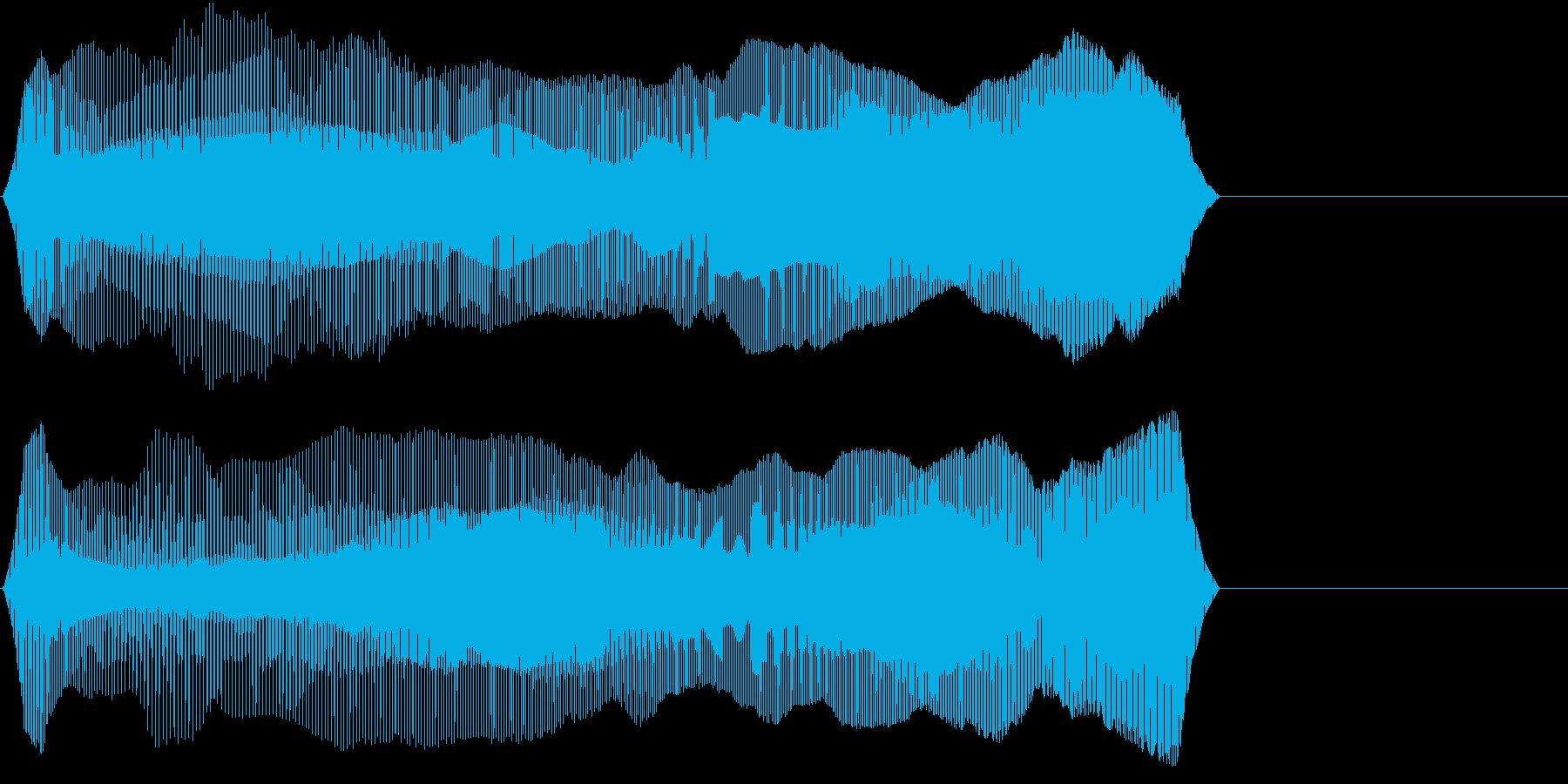 TVFX 『チェックポイント!』のSE1の再生済みの波形