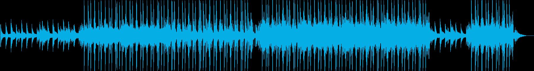 冬を感じる幻想的な曲の再生済みの波形