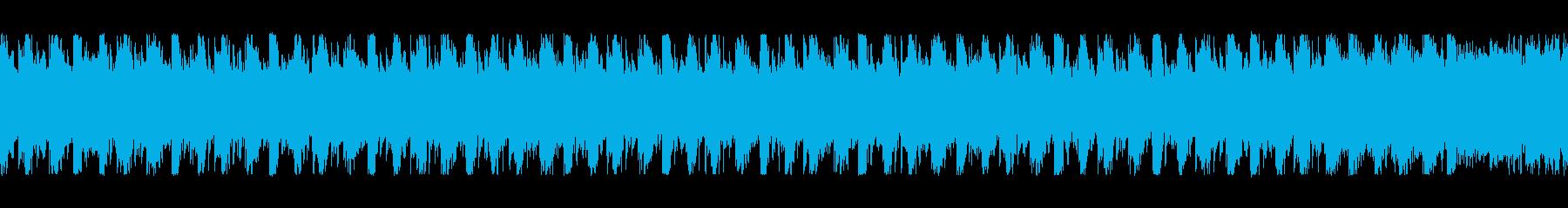 bpm137地味でおとなしいループテクノの再生済みの波形