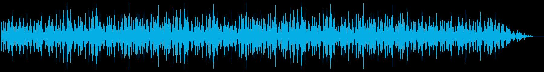 ピアノのみ!シンプルで明るくのんびりの再生済みの波形