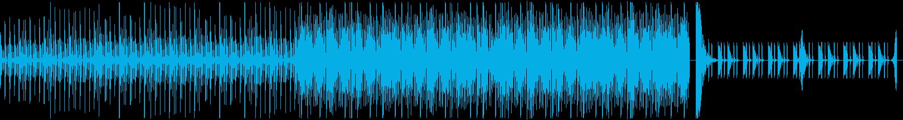 捜査中やステルス中に合うシリアスなループの再生済みの波形