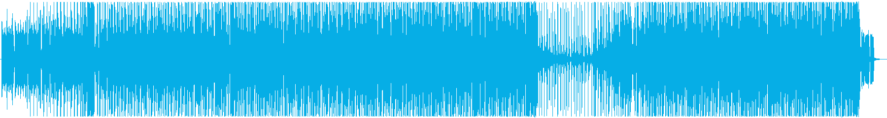 Cool, fashionable, sprinting dance EDM's reproduced waveform