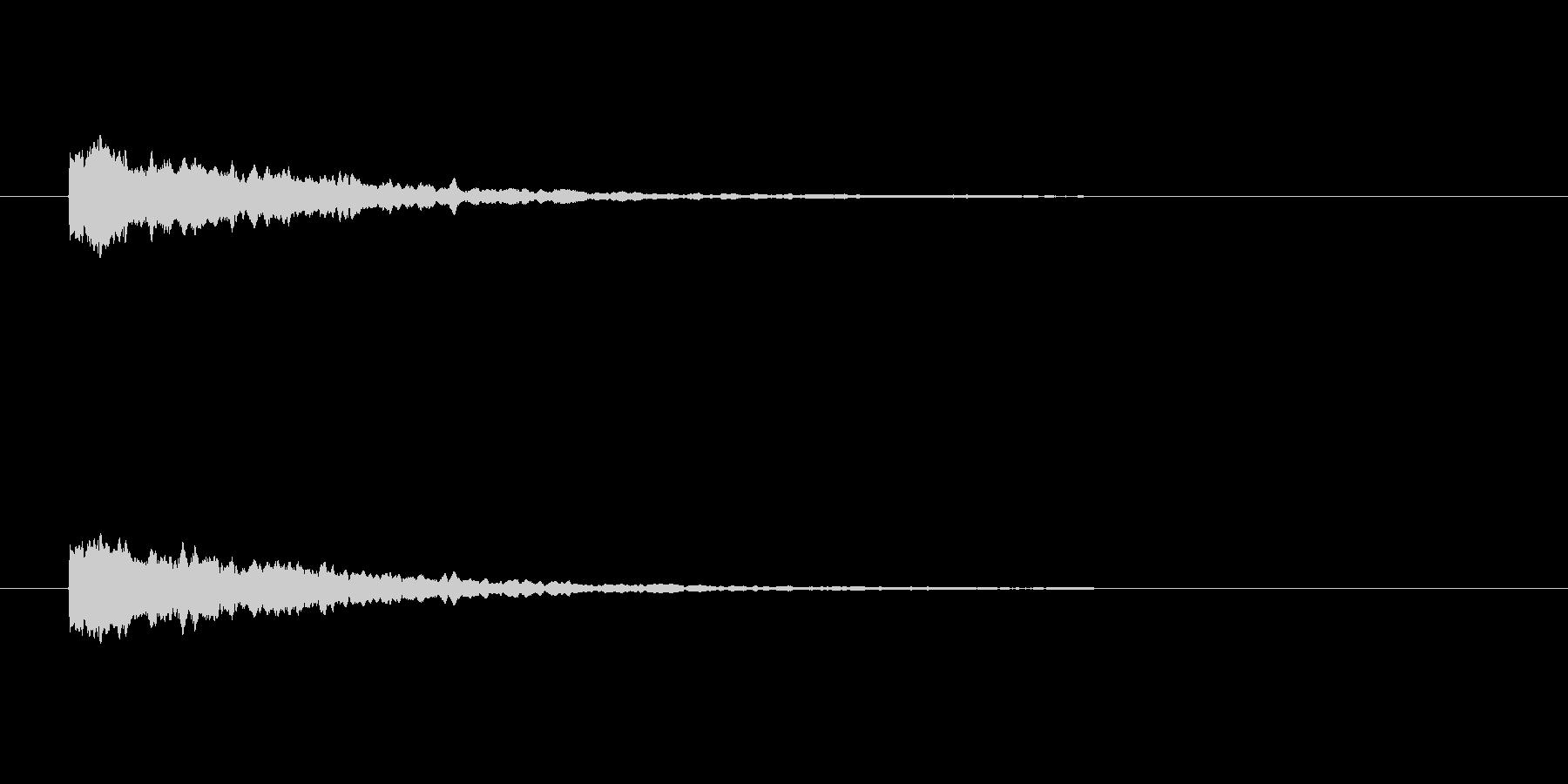 【ひらめき09-3】の未再生の波形
