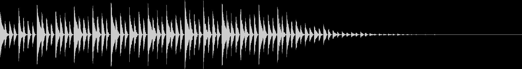 オープニングの未再生の波形