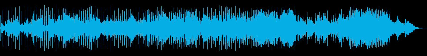 サックスとエレキギターのソロをフィ...の再生済みの波形