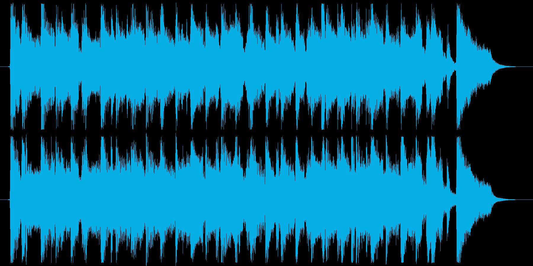 Gloria_lazzVer短尺の再生済みの波形