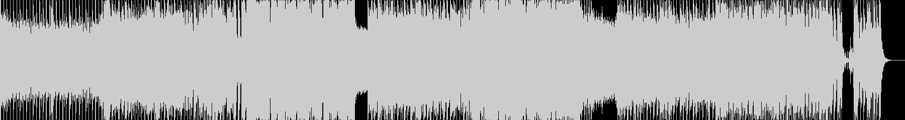 ロック スピード系映像向 ギターインストの未再生の波形