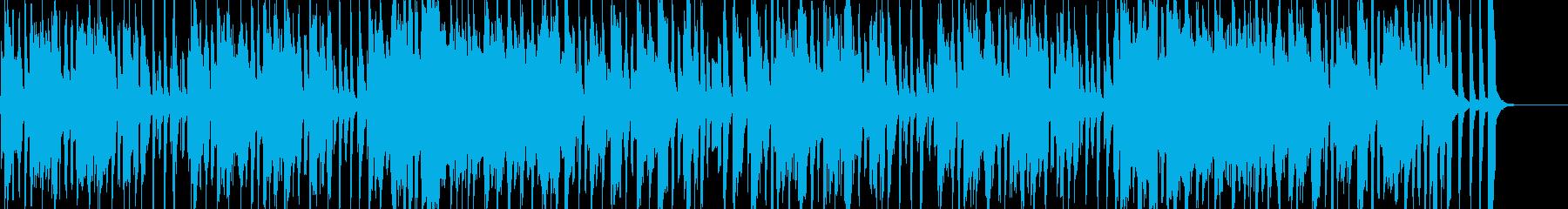 子供・ペット向けのほのぼのコミカルポップの再生済みの波形