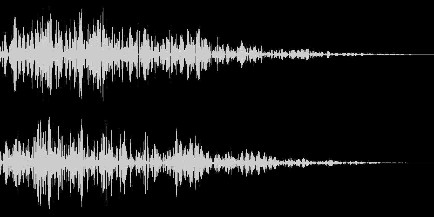 シネマティック/場面転換/風切り音23cの未再生の波形