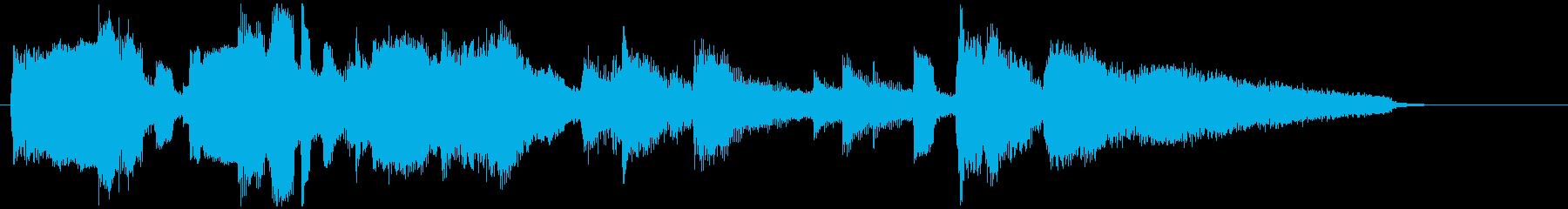 まったり雰囲気のCM向けジャズバラードの再生済みの波形