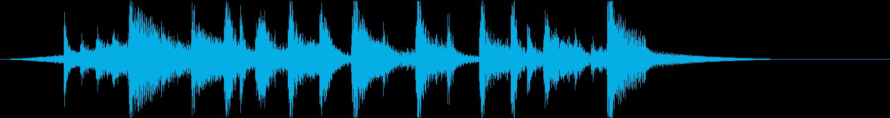 アニメのアイキャッチ1【Ver3】の再生済みの波形
