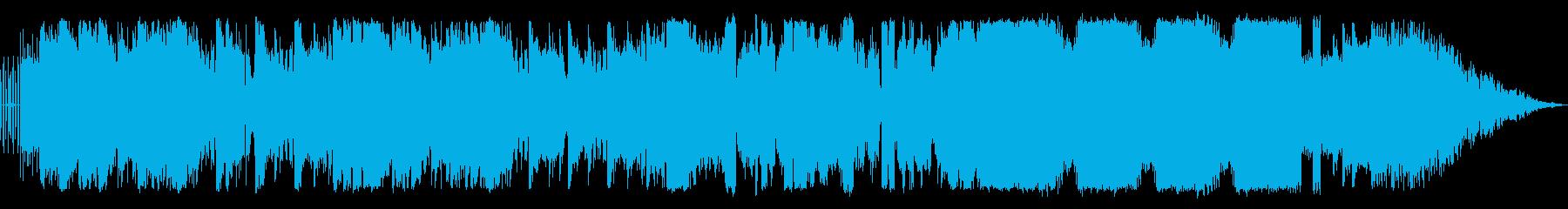 インパクトある音源です。ダブスッテプ・…の再生済みの波形