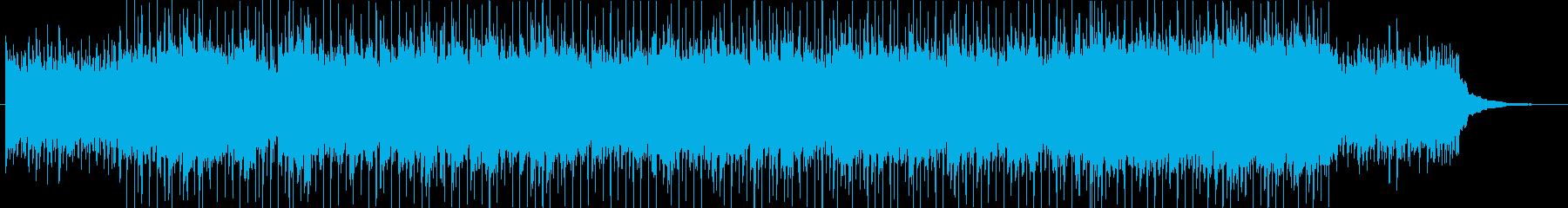 バイオリンが爽やかでポップなBGMの再生済みの波形