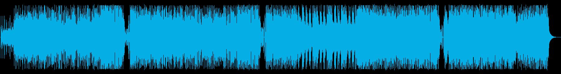 セリフがキュンとするかっこかわいいロックの再生済みの波形