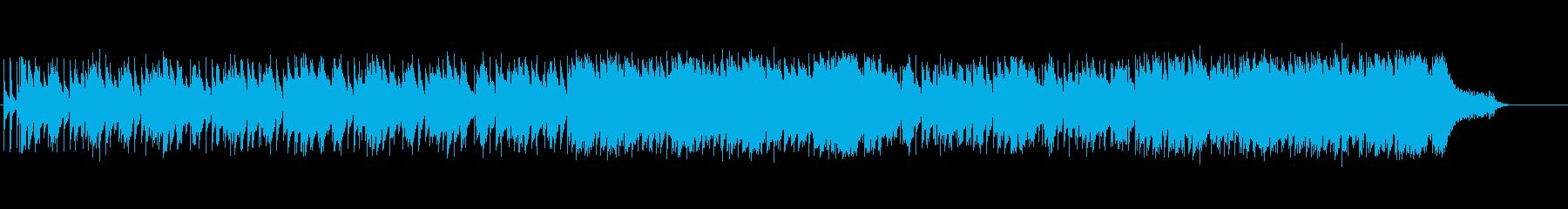 ハートウォームなピアノ・バラードの再生済みの波形