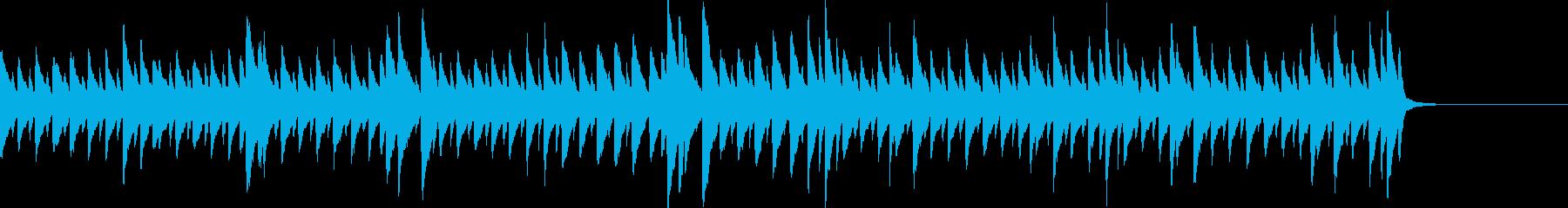日常・暮らし・家事生活 ピアノ曲の再生済みの波形