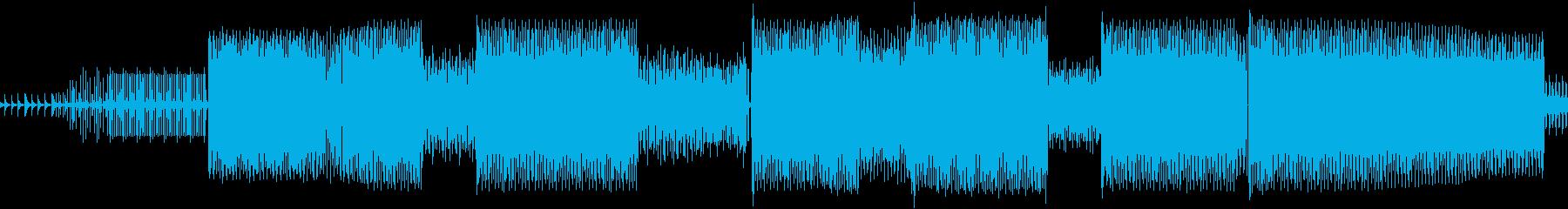 ミニマリストテクノ。の再生済みの波形