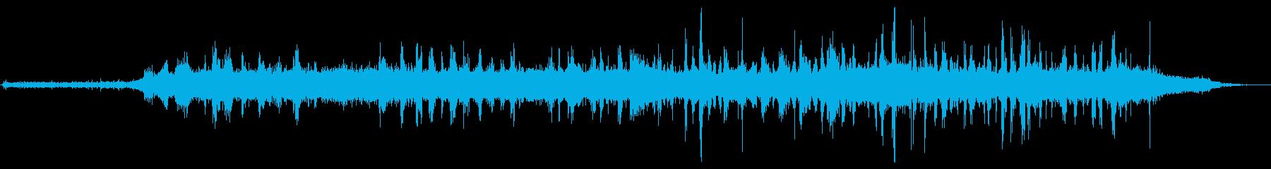 ガスローントリマー:開始、実行、停...の再生済みの波形
