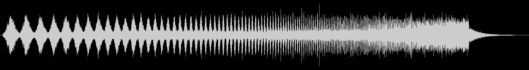 上昇 ダブステップウォブル01の未再生の波形