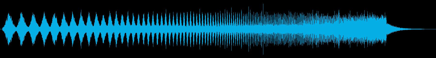 上昇 ダブステップウォブル01の再生済みの波形