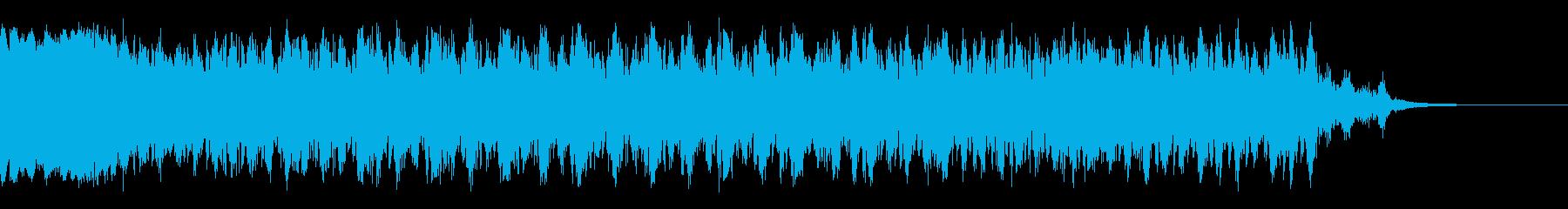 レーザーバックとフォースの再生済みの波形