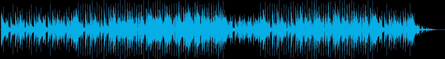 ジャジー、Lofi、オシャレの再生済みの波形