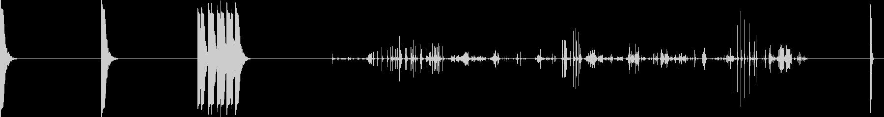 風船の音、5つのバージョン。 DI...の未再生の波形
