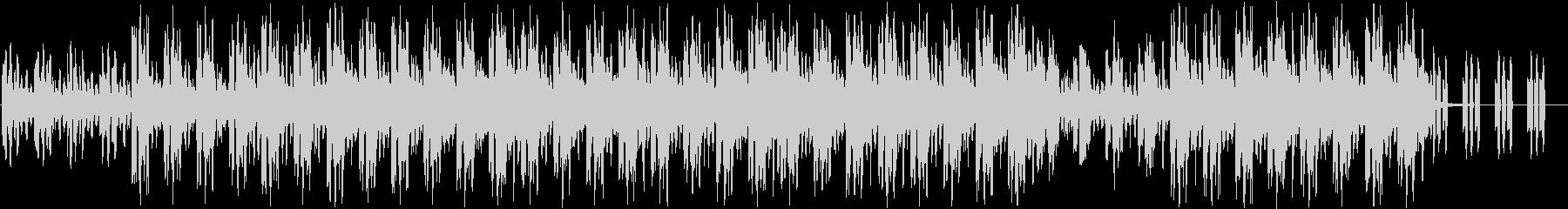 アンニュイなチルアウトの未再生の波形