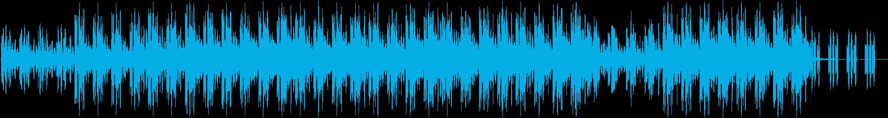 アンニュイなチルアウトの再生済みの波形