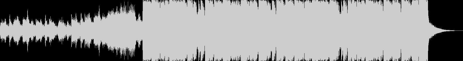 ピチカートドラムンベースエレクトロdの未再生の波形