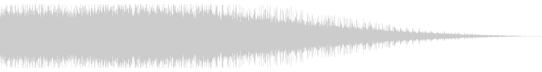 拍手の効果音(中規模/劇場/舞台)10の未再生の波形