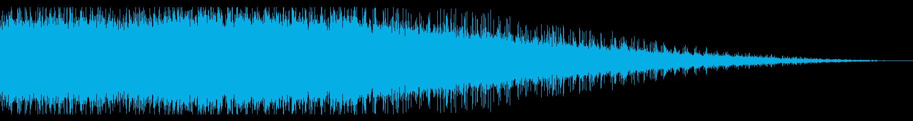 拍手の効果音(中規模/劇場/舞台)10の再生済みの波形